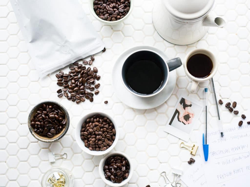 zwarte koffie goed voor afvallen